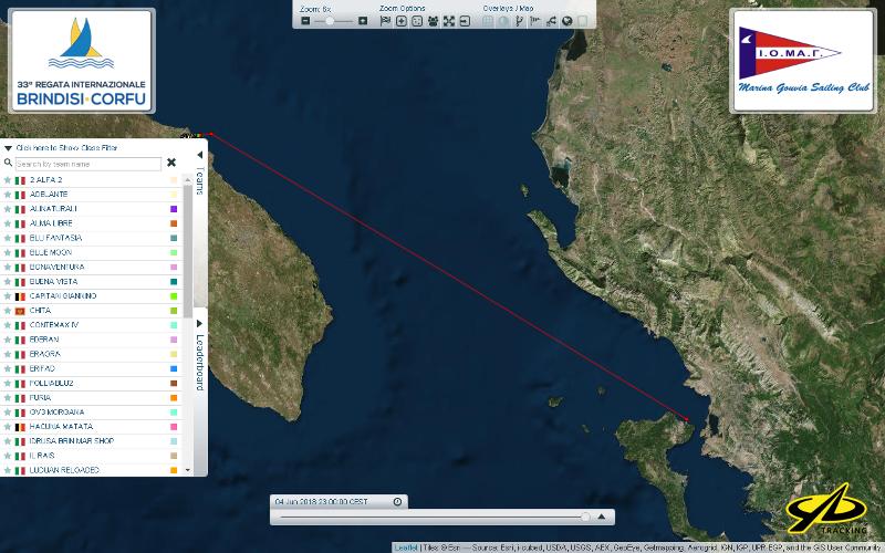 Brindisi Corfu Live Tracking